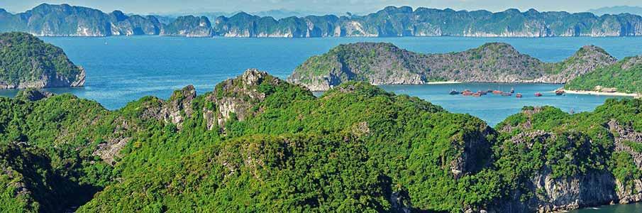 Trekking in Cat Ba Island - Ha Long Bay - northern Vietnam