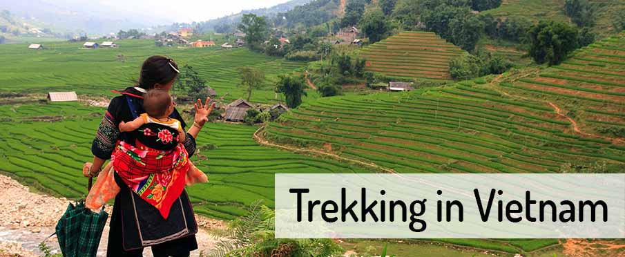 Trekking in northern Vietnam