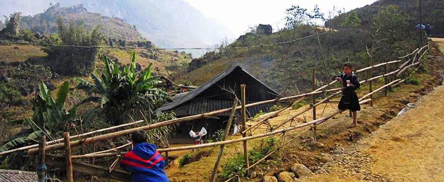 Trekking in Sapa - northern Vietnam