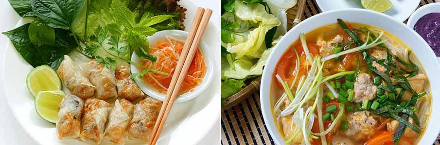 vietnam-food-nem-ran-bun-rieu