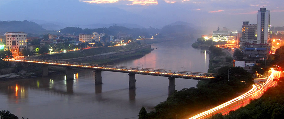 vietnam-lao-cai-town
