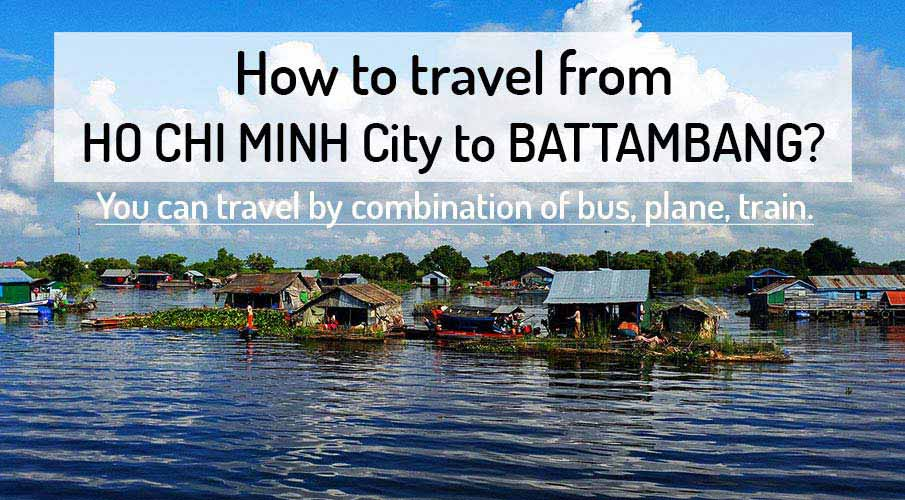 how to get to angkor wat from ho chi minh