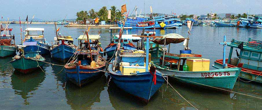 How to get from ho chi minh city to phu quoc northern for City island fishing boats