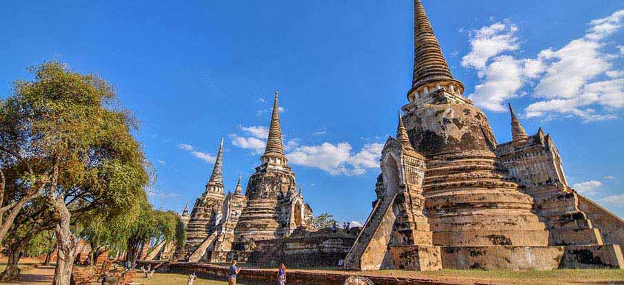Ayutthya-Wat-Phra-Si-Sanphet-Thailand