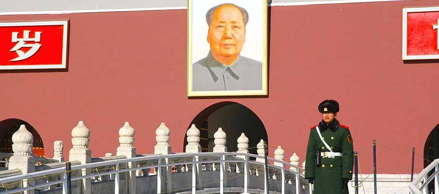 Tiananmen-Gate-Mao-Zedong-Beijing