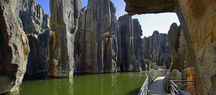 Yunnan-Stone-Forest-Kunming-China