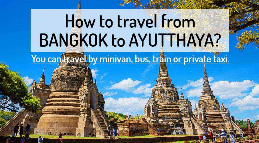 Image result for bangkok to ayutthaya
