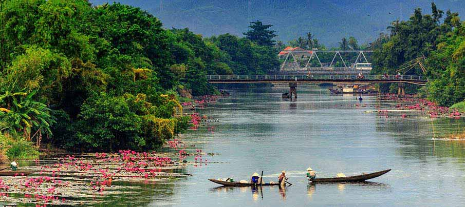 How To Get From Vientiane To Hue Vietnam Northern Vietnam