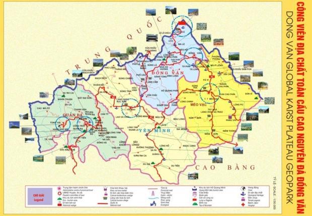 dong-van-karst-geopark-map