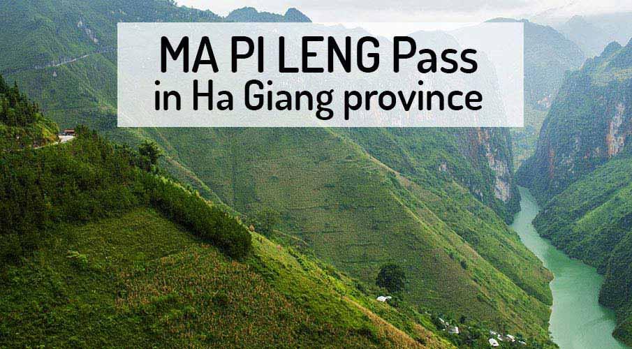 Ma Pi Leng Pass - Ha Giang (Vietnam)