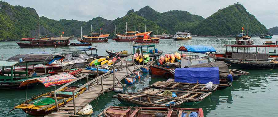cat-ba-island-port