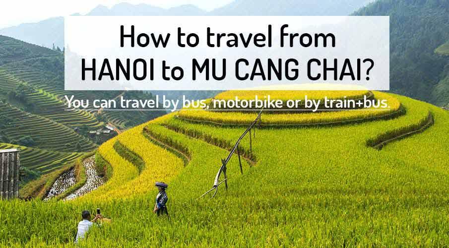 How to get from Hanoi to Mu Cang Chai (Yen Bai)