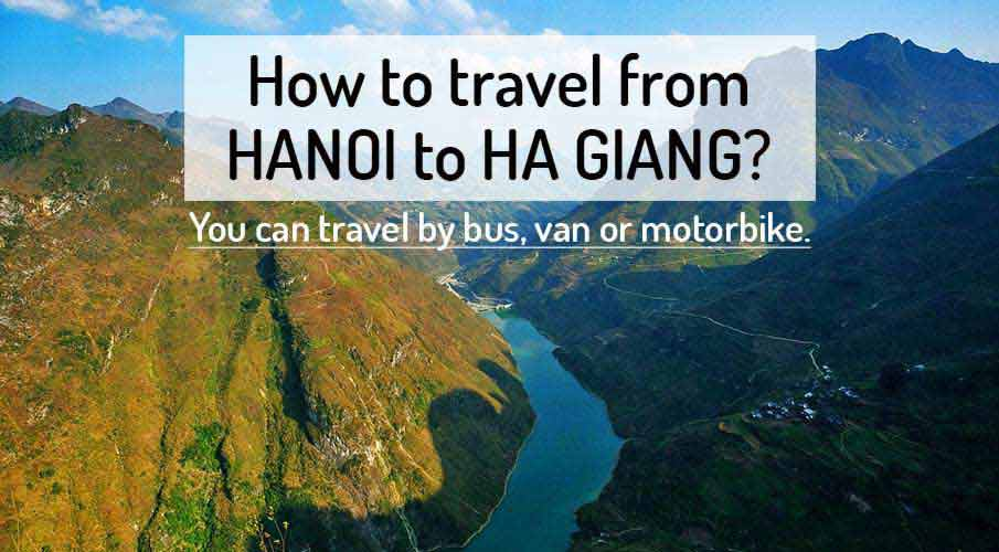 How to get from Hanoi to Ha Giang