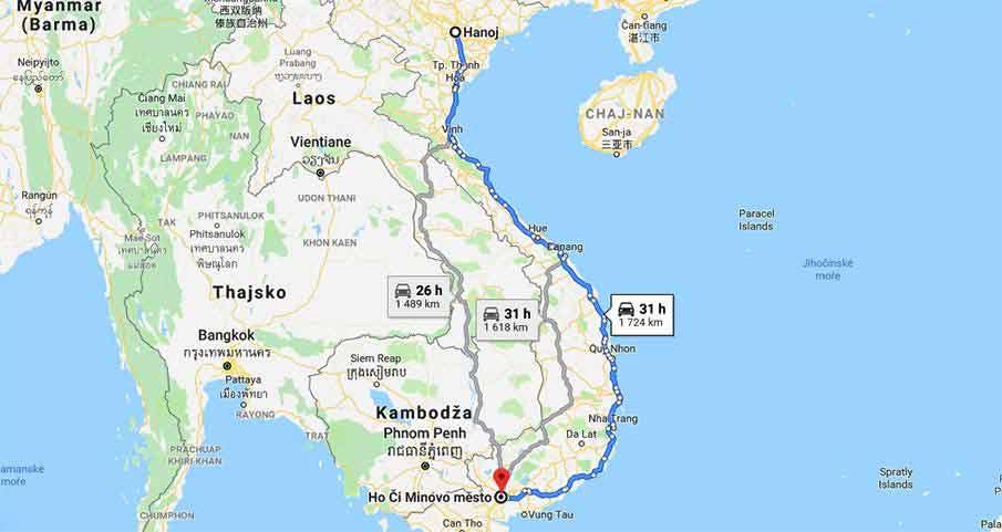 hanoi-saigon-train-travel-map