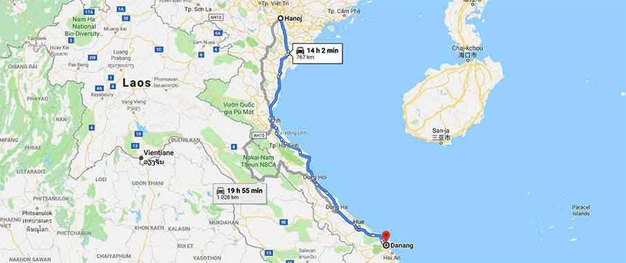 hanoi-to-danang-travel-map