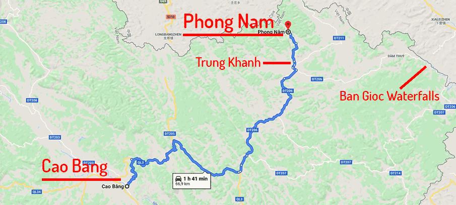 route-map-cao-bang-phon-nam