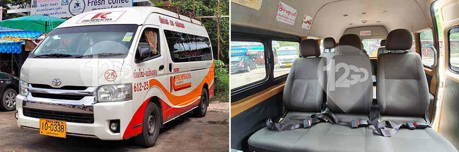 minivan-bus-chiang-mai-to-pai