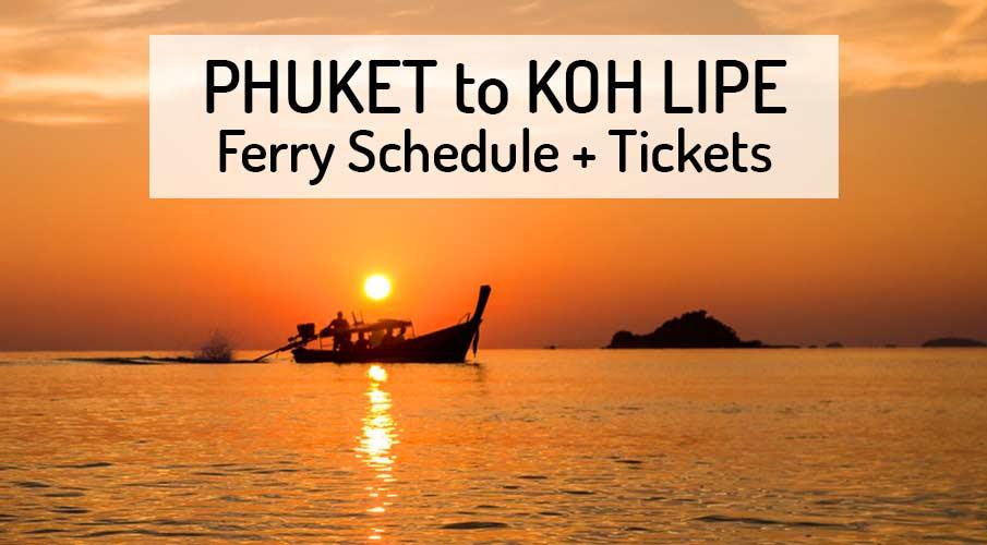 phuket-to-koh-lipe-ferry-schedule