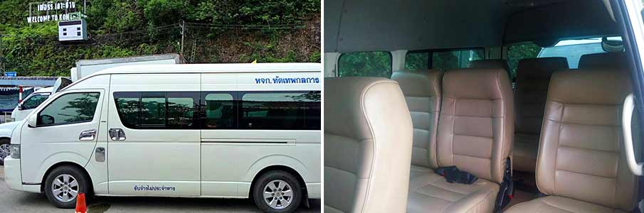 minivan-bus-pattaya-koh-chang