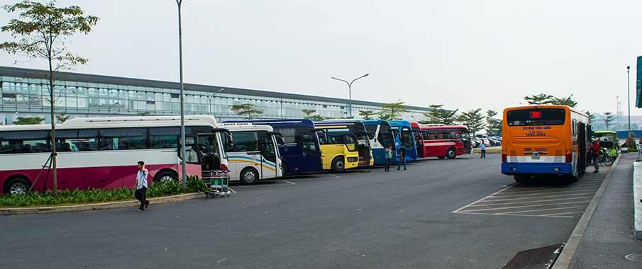 hanoi-noi-bai-airport-bus-parking-lot