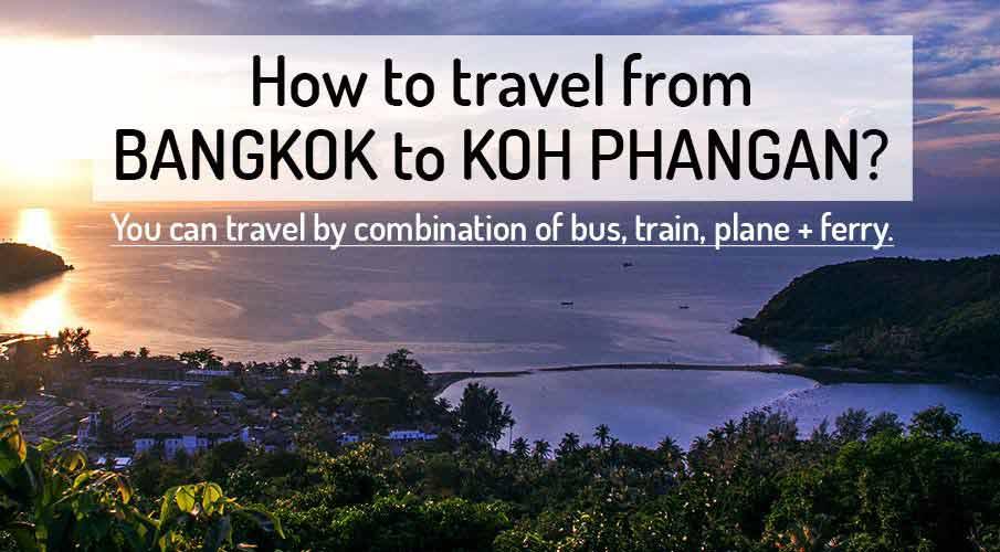 How to get from Bangkok to Koh Phangan