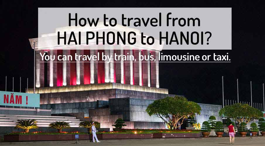 How to get from Hai Phong to Hanoi