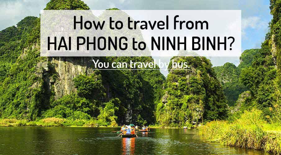 How to get from Hai Phong to Ninh Binh