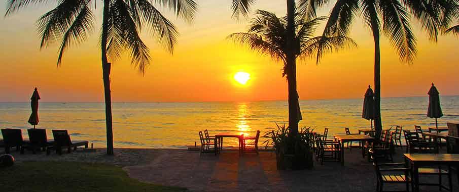 hua-hin-beach-sunset