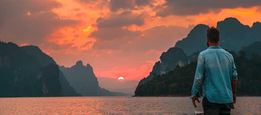 khao-sok-park-thailand-sunset