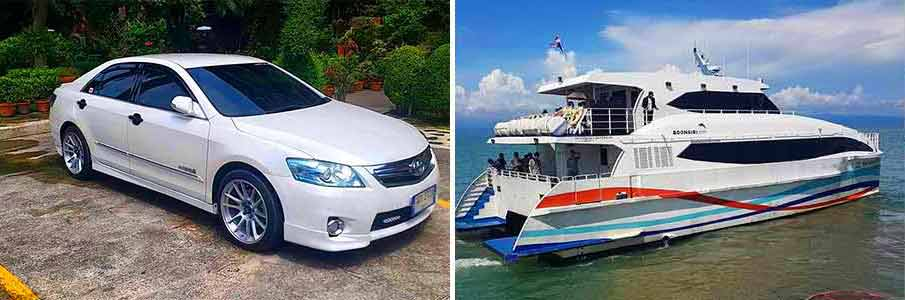 taxi-car-ferry-boat-bangkok-to-koh-mak