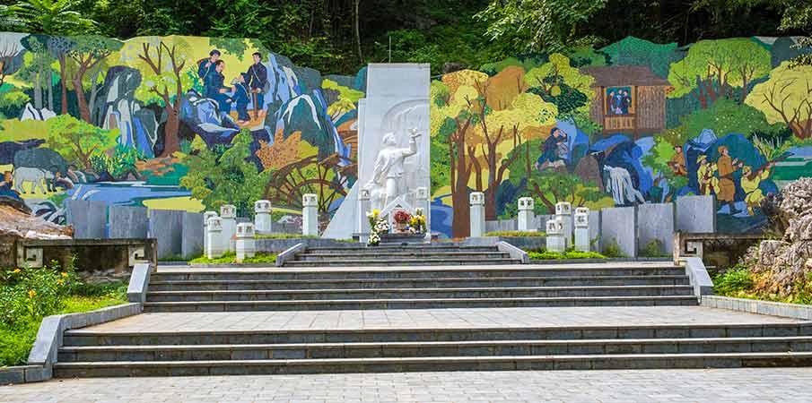 kim-dong-monument-martyr-cao-bang-vietnam