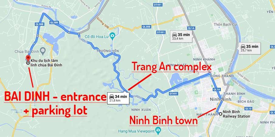 ninh-binh-bai-dinh-travel-route-map