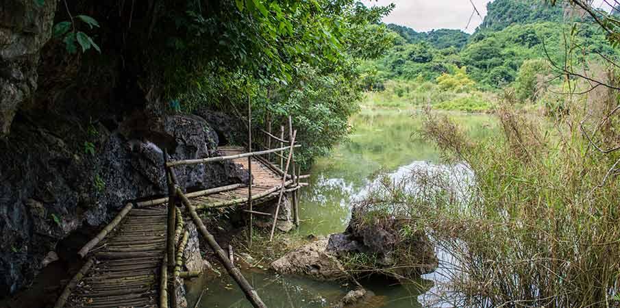 thung-nham-bird-park-road-vietnam
