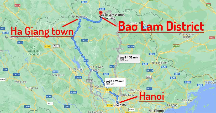 travel-map-hanoi-to-bao-lam-cao-bang